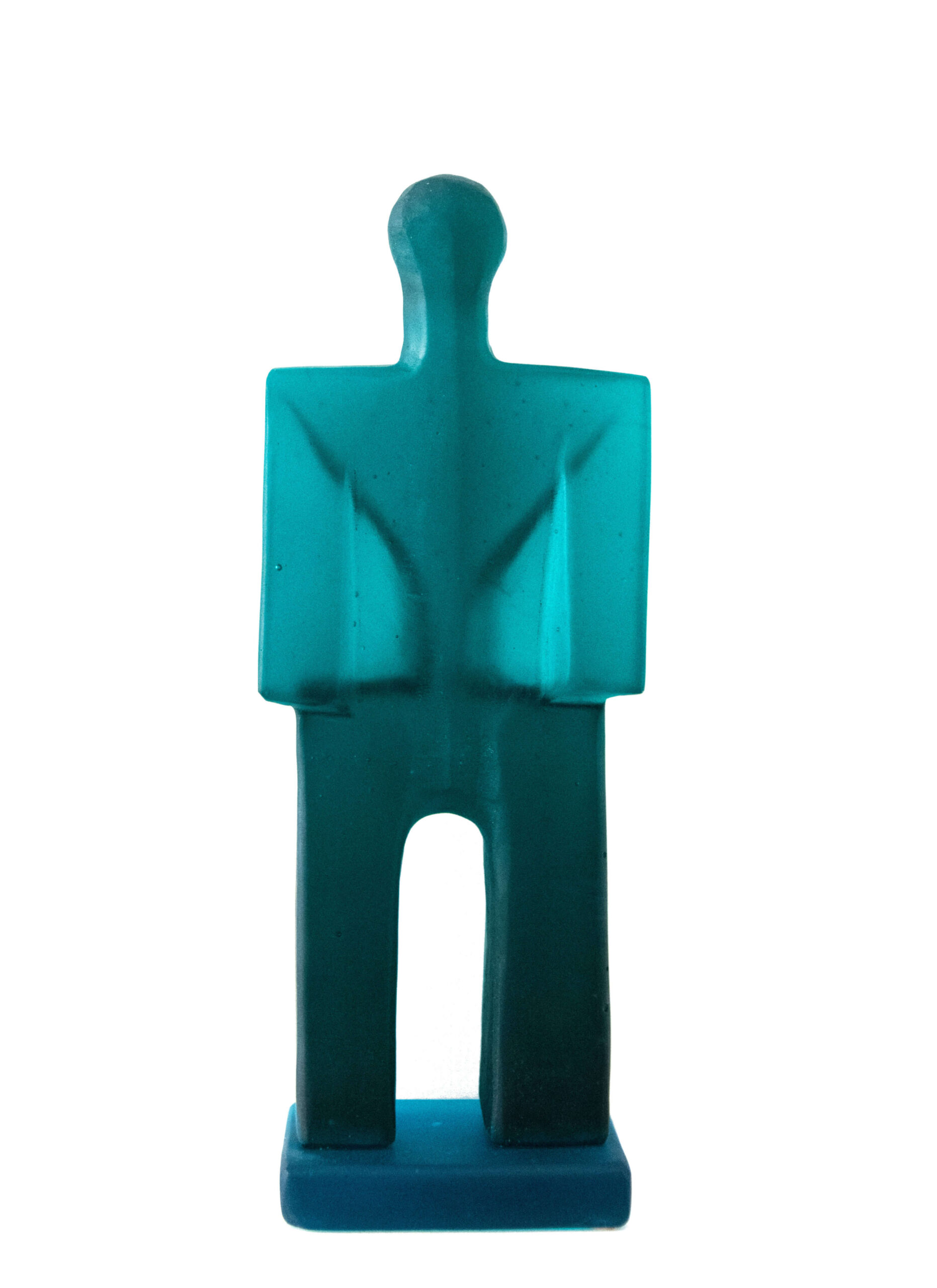 Image of Little Man in Turquoise