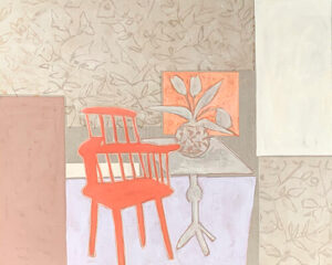 Photo of Red Chair artwork