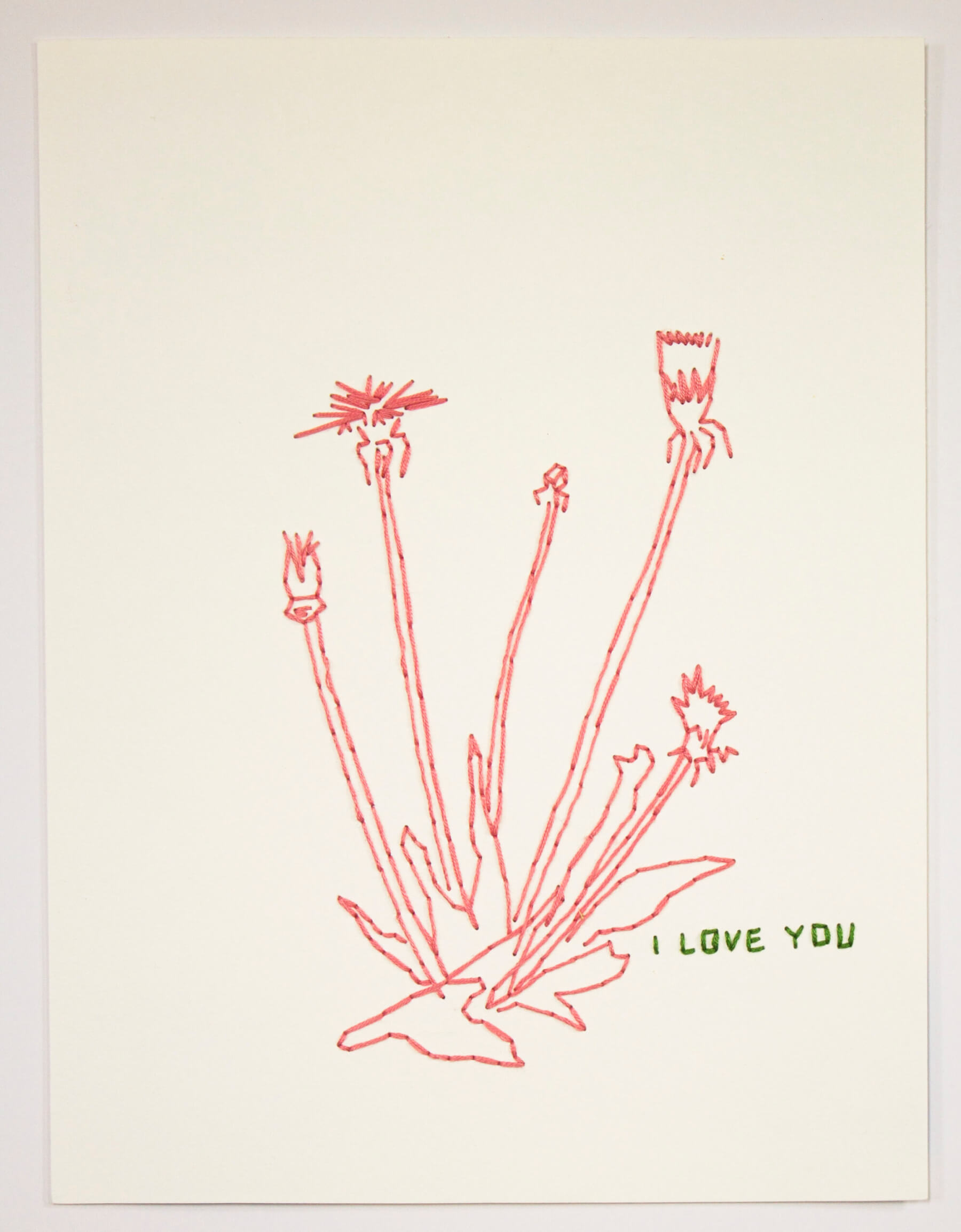 Image of Untitled 338 (I love you)
