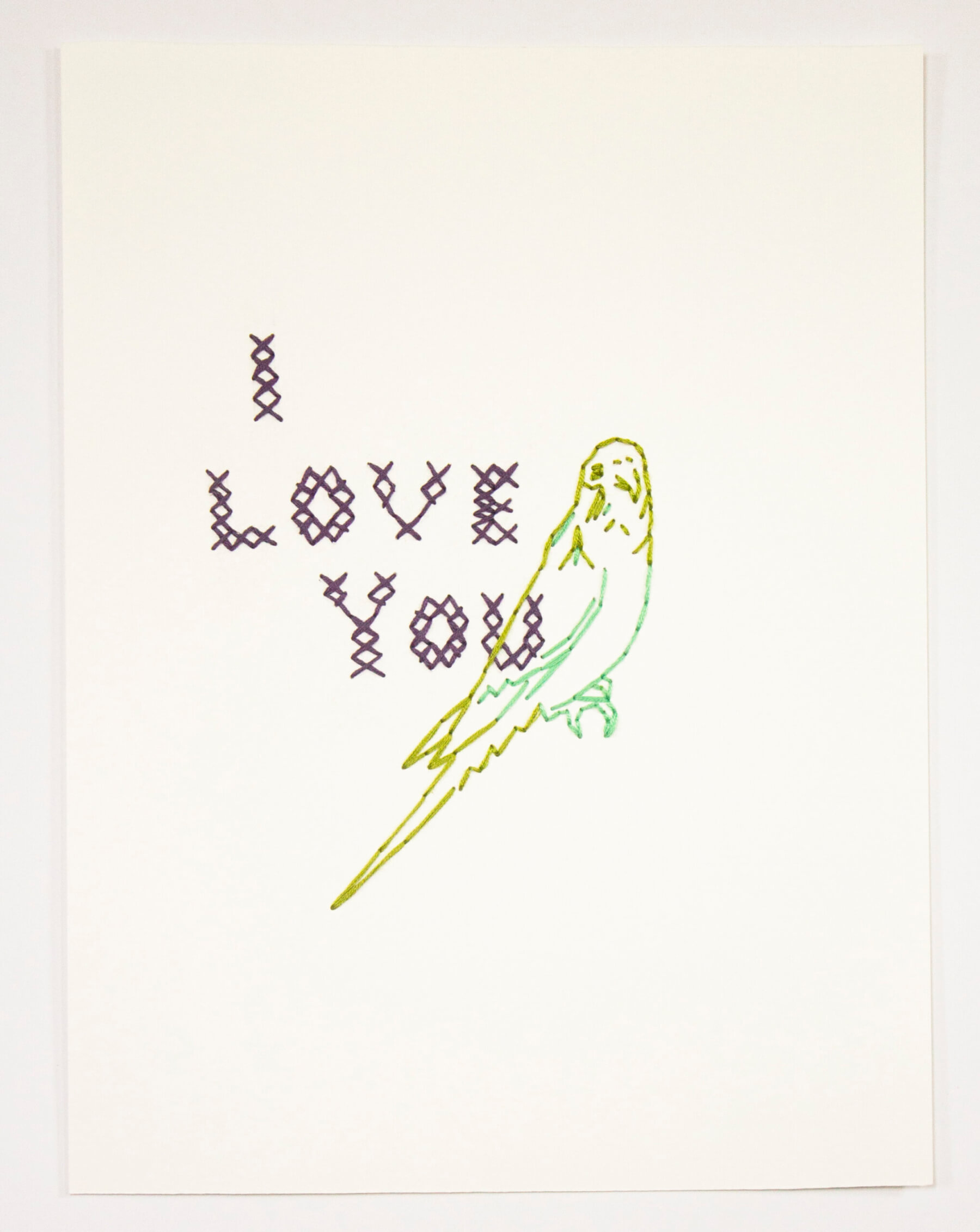 Image of Untitled 339 (I Love You)