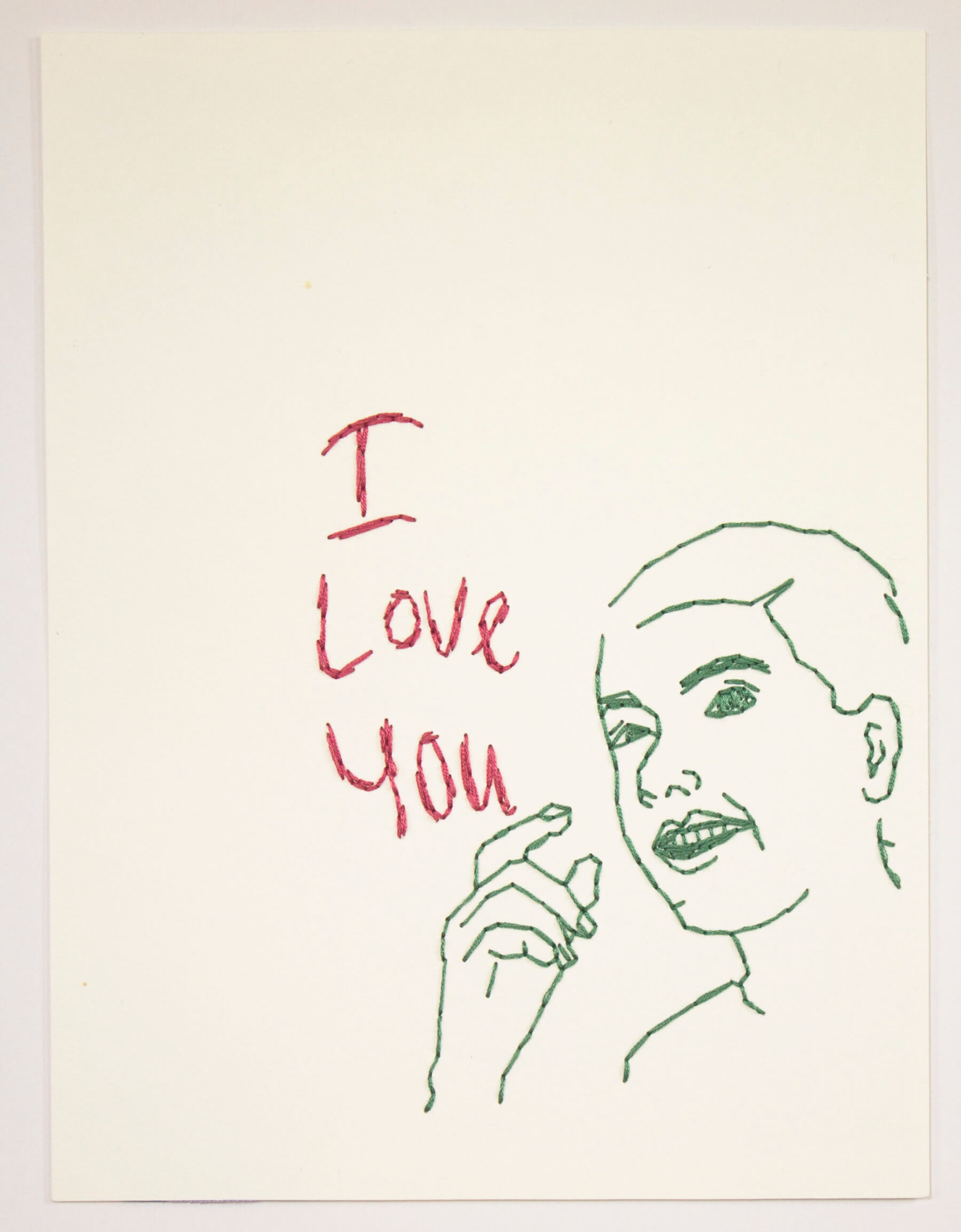 Image of Untitled 342 (I Love You)