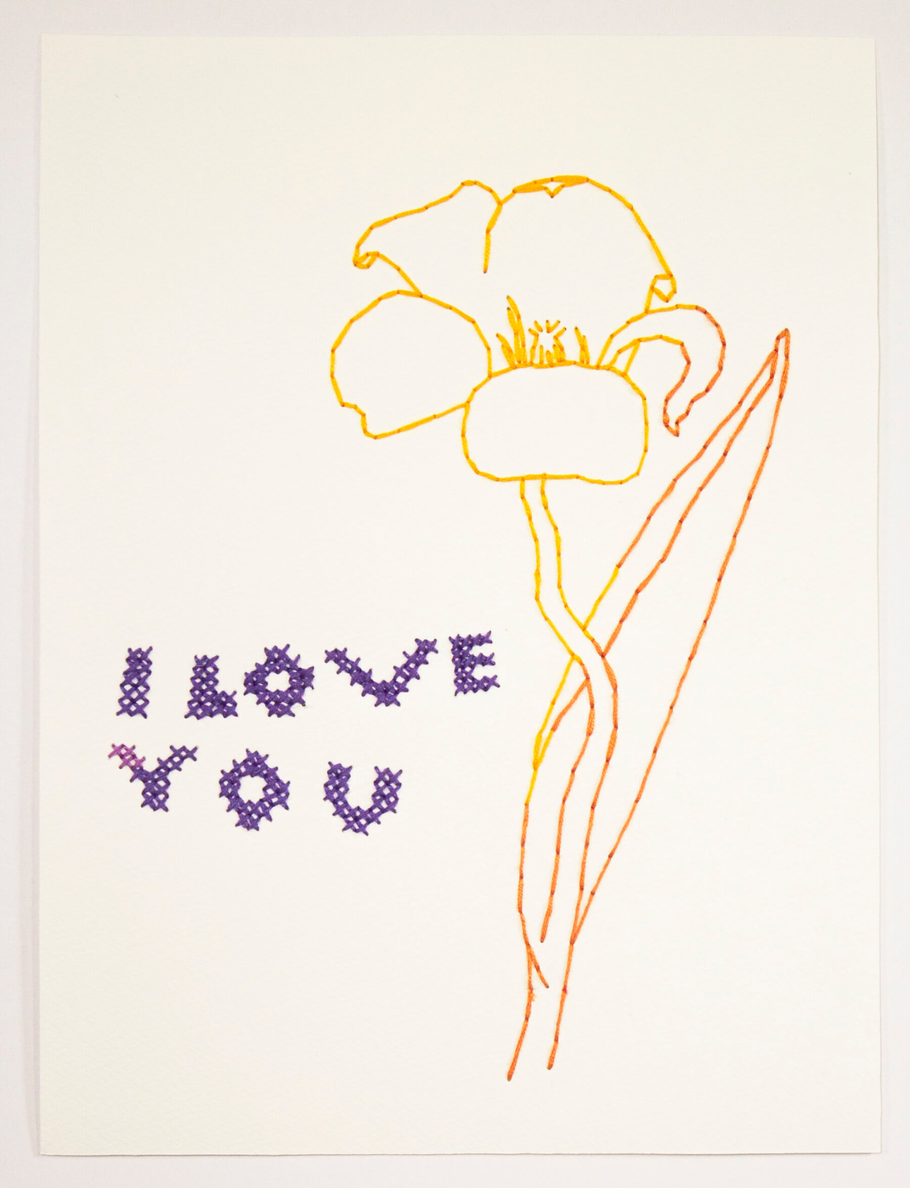 Image of Untitled 343 (I Love You)